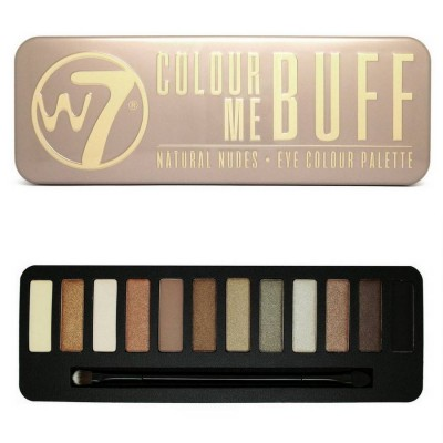 پالت سایه چشم 12 تایی دبلیو سون W7 Make-Up Colour Me Buff Eye Palette