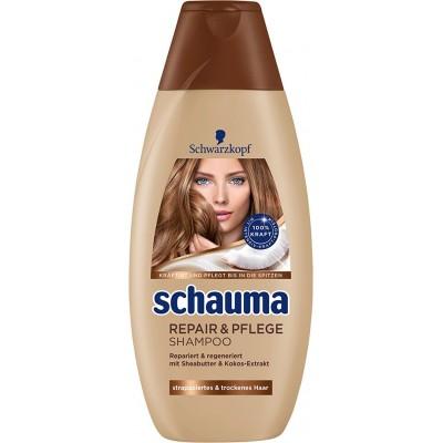 شامپو ترمیم کننده مو شوما شوارتسکف Schauma Repair And Care Shampoo