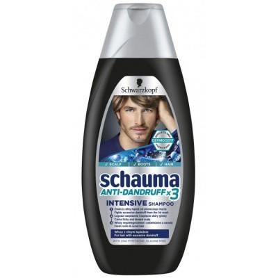 شامپو شوما مردانه شوارتسکف Schauma Mint Fresh Shampoo For Men