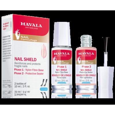 محلول استحکام بخش و محافظ ناخن نیل شیلد ماوالا Mavala Nail Shield reinforces and protects |