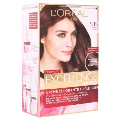 کیت رنگ مو لورال پاریس مدل اکسلنس Loreal Paris Excellence Cream Hair Color Kit
