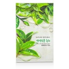 پک سه تایی ماسک نقابی چای سبز نچرال ریپابلیک Natural republic green tea mask sheet