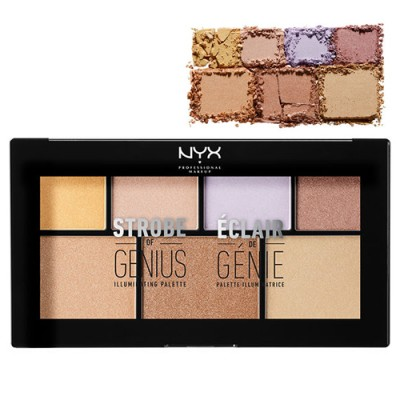 پالت هایلایتر نیکس NYX Professional Makeup Highlighter Palette