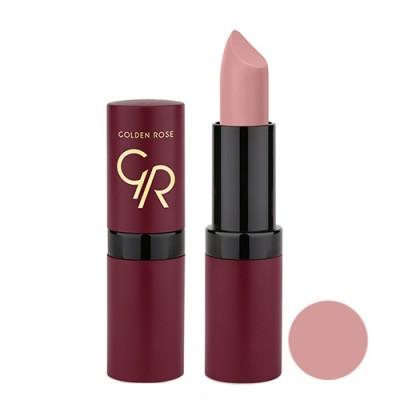 رژ لب مات و مخملی گلدن رز Golden Rose Velvet Matte Lipstick