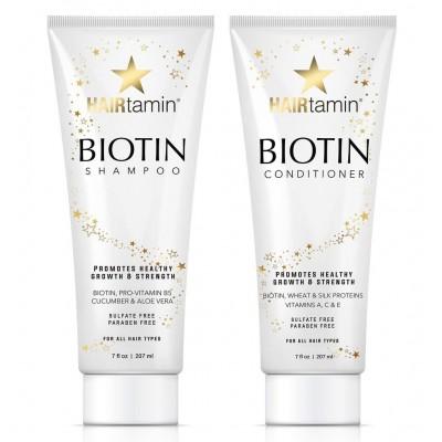 ست شامپو و نرم کننده بیوتین هیرتامین HAIRTAMIN BIOTIN SHAMPOO & CONDITIONER SET