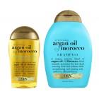پک شامپو و روغن آرگان ارگانیکس OGX Organix Moroccan Argan Oil and shampoo