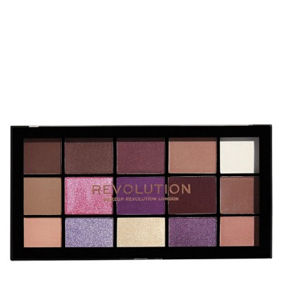 پالت سایه 15 رنگ رولوشن مدل Reloaded Palette Visionary Revolution Reloaded Palette Visionary 15 Shades Eyeshadow Palette