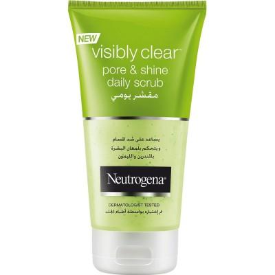 اسکراب نوتروژينا پور اند شاين 150 میل Neutrogena visibly clear pore&shine  