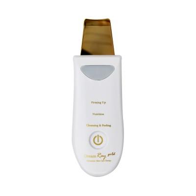 دستگاه درما اف گلد Derma F dermabrasion skin scruber device gold