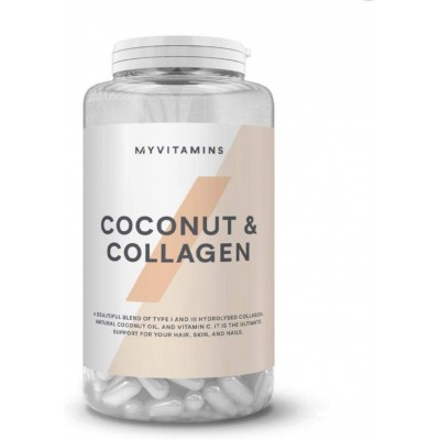 کپسول کلاژن و نارگیل مای ویتامینز My Vitamins Coconut And Collagen Capsule