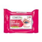 دستمال مرطوب پاک کننده آرایش دور چشم کامان Comeon Eye Mskeup Remover Wipes 10pcs