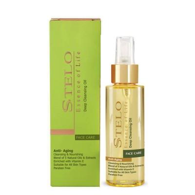 روغن پاک کننده آرایش استلو Stelo Makeup Remover Oil 100ml