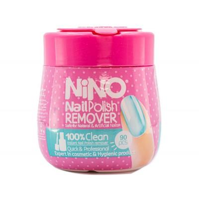 پد لاک پاک کن 90 عددی نینو Nino Quick Polish Remover