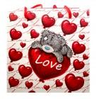 پاكت هديه طرح خرس مدل GIFT OF LOVE