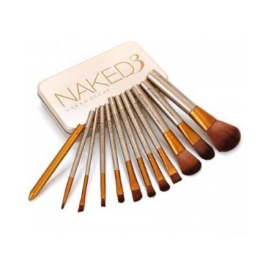 ست براش آرایشی نیکد 12 عددی | Naked Makeup Brush Set 12Pcs
