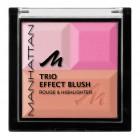 رژگونه و هایلایتر منهتن Manhattan trio effect blush rouge and hilighter