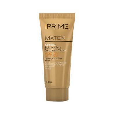 ضد آفتاب رنگی جوان کننده SPF 50 پریم Prime Rejuvenating Sunscreen Cream