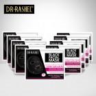 ماسک ذغال و کلاژن ورقه ای دکتر راشل Dr,Rashel black facial mask