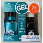 لاک ژل بدون نیاز به دستگاه UV همراه با تاپ کات Sally Hansen miracle gel